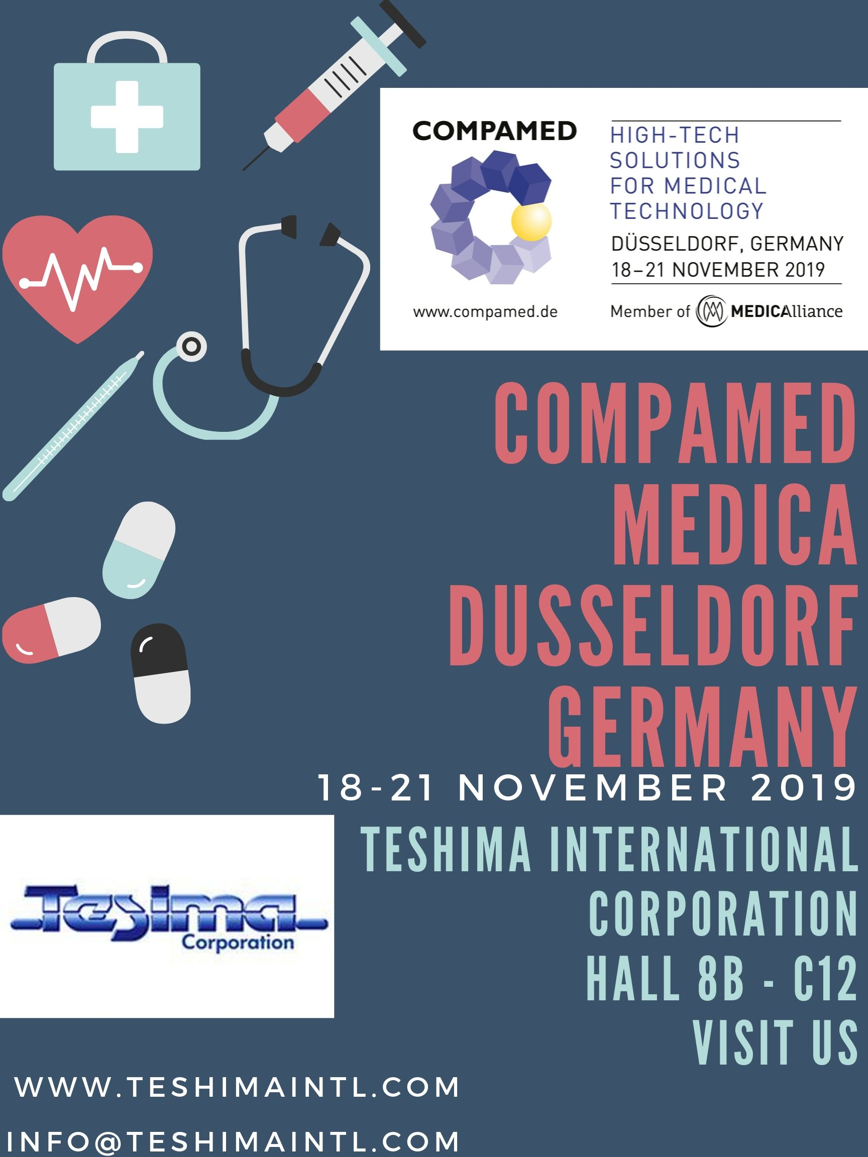 Compamed Medica Dusseldorf